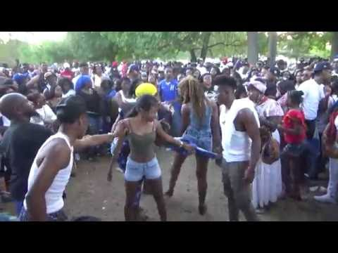 HONDURAN DAY PARADE BRONX 2016 NEW  YORK - GARIFUNA HONDURAN PUNTA DANCE COMPETITION