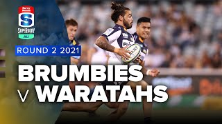 Brumbies v Waratahs Rd.2 2021 Super rugby AU video highlights | Super Rugby Video