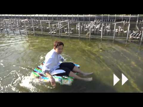 洋芋片包裝袋中空氣太多? 學生將洋芋片袋做船橫渡漢江!