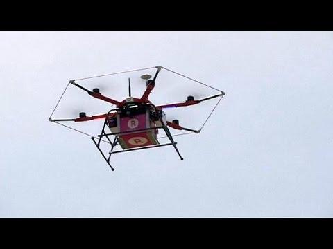 Ιαπωνία: πέταξε το πρώτο drone που μετέφερε παραγγελίες – economy