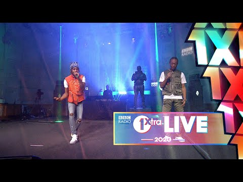 Young T and Bugsey - Don't Rush ft. Headie One (1Xtra Live 2020)