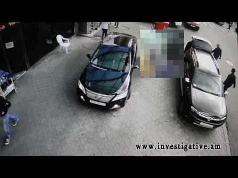 Բջջային հեռախոսի գողություն՝ ավտոմեքենայից (լուսանկարներ, տեսանյութ)