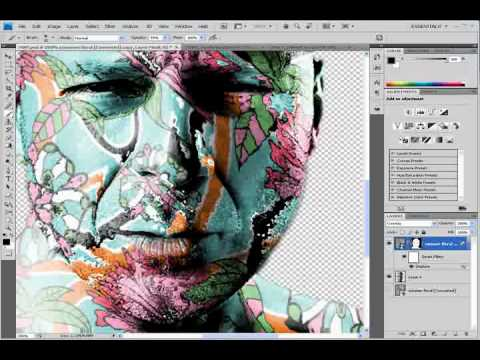 Photoshop CS4 – Displacement Map Tutorial