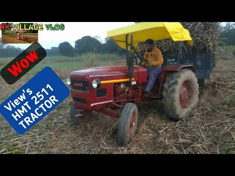 HMT 2511 tractor part 2 tochen eicher tractor jbardast video जोर तो खूब लगाया इस ट्रेक्टर ने