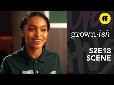 grown-ish Season 2, Episode 18 | Professor Hewson Finds Out Zoey Knows | Freeform