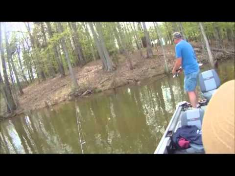 Tony and me crappie fishing