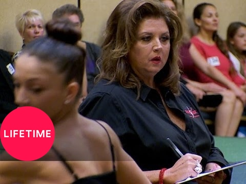 Dance Moms: Bonus Scene: Abby's Audition (S5, E7) | Lifetime
