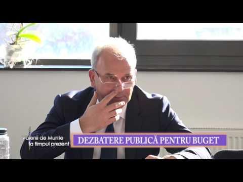 Emisiunea Valenii de Munte la timpul prezent – 29 ianuarie 2016 – partea I – dezbatere publica buget