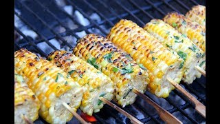 Learn how to make the Ultimate Grilled Corn for those summertime backyard BBQs, as we continue with the annual #JulyMonthOfGrilling with Chris De La Rosa of CaribbeanPot.comFor this bbq corn you'll need...5 sweet corn1/4 teaspoon salt2 scallions1 teaspoon fresh thyme1 tablespoon parsley (chopped)1 cup coconut milk1/4 teaspoon black pepper1 teaspoon smoked paprika (hot)1/2 lime1/4 cup feta cheese* optional 1/2 teaspoon ground cuminPlease Support: https://www.patreon.com/caribbeanpotMore Caribbean recipes can be found at http://www.caribbeanpot.comPlease support my efforts @ https://www.patreon.com/caribbeanpotGet my Gourmand Award winning cookbook, The Vibrant Caribbean Pot - 100 Traditional And Fusion Recipes Vol 2 @ http://www.WestIndianFoodCompany.comConnect with Chris De La RosaFacebook: https://www.facebook.com/RealCaribbeanPot/Twitter: https://twitter.com/obzokeeInstagram: caribbeanpotContact: http://caribbeanpot.com/contact/Pinterest: http://www.pinterest.com/caribbeanpot/the-caribbean-pot/To learn more about Chris De La Rosa, you can visit http://www.ChrisDeLaRosa.com