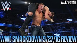 Nonton Wwe Smackdown Live 9 27 16 Review  Aj Styles Vs Dean Ambrose   Dolph Ziggler S Wwe Career Over   Film Subtitle Indonesia Streaming Movie Download