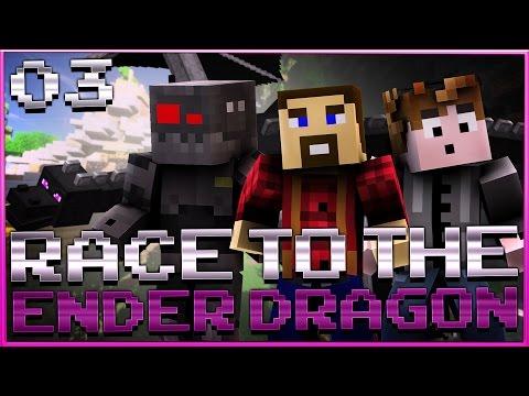 "Minecraft Race To The Ender Dragon: ""STALKING!"" - Season 3 - Ep 3"