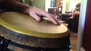 Djembe goofing around