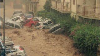 Rossano Italy  City pictures : الفيضانات تغرق مدينة روسانو الايطاليه و اعلان حالة الطوارئ - Rossano Italy flo