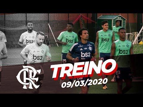 Treino do Flamengo - 09/03/2020