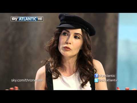 Carice van Houten - APOLOGIES FOR THE ADVERTS - This is because of the song - I have no control, and certainly not getting any money. This is it - The series final of Thronecast...