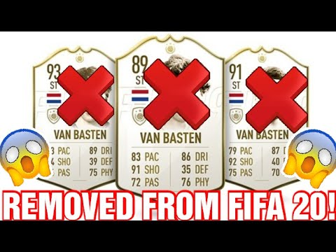 MARCO VAN BASTEN REMOVED FROM FIFA 20! (REASON WHY)