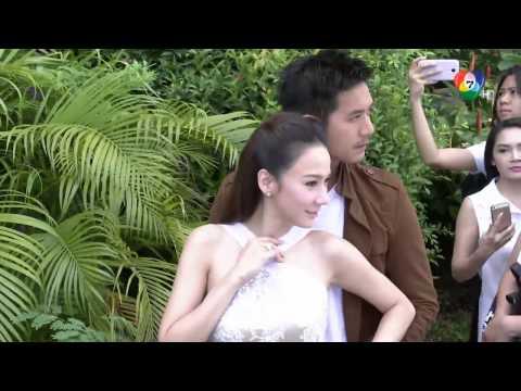 ดูละครย้อนหลังช่อง7 - พราว - นักแสดงร่วมพิธีบวงสรวงละคร รับชมคลิปย้อนหลังช่อง7สี ได้ทาง http://www.bugaboo.tv.