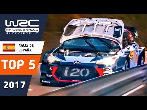 WRC - RallyRACC 2017: Top 5 Highlights