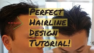 Video How to Draw The Perfect Hairline Design Tutorial MP3, 3GP, MP4, WEBM, AVI, FLV Juli 2018
