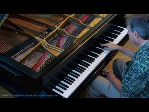 How to approach thirds on a piano