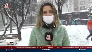 Gaziosmanpaşa'da Kar Keyfi - A Haber