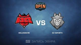 HellRaisers vs G2 Esports - Dreamhack Tours - map1 - de_cache [yxo, Enkanis]