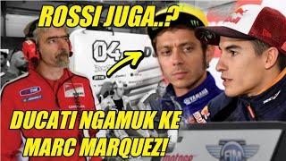 Video MotoGP-Ducati Ngamuk ke Marc Marquez, Nama Valentino Rossi Dibawa-bawa MP3, 3GP, MP4, WEBM, AVI, FLV Desember 2018
