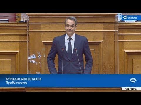 Κυρ. Μητσοτάκης: Η ευημερία με οικολογικό πρόσημο, κεντρική προτεραιότητα της κυβέρνησης
