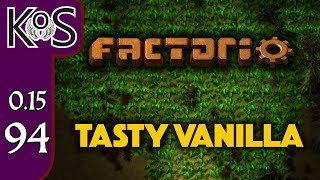 Factorio 0.15 Tasty Vanilla Ep 94: SCIENCE SUSHI - Expensive Recipes, Let's Play, Gameplay