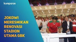 Video Presiden Jokowi Meresmikan Renovasi Stadion Utama Gelora Bung Karno MP3, 3GP, MP4, WEBM, AVI, FLV April 2018