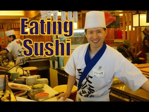 VIDEO: Eating Sushi in Seoul