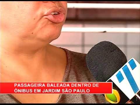 [RONDA GERAL] Passageira é baleada dentro de ônibus em Jardim São Paulo