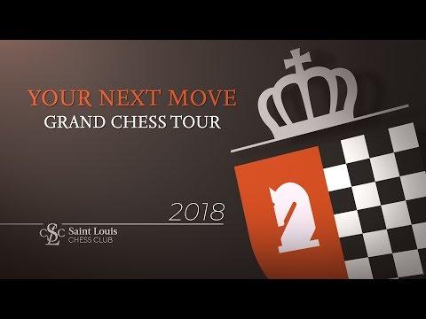 2018 Your Next Move Grand Chess Tour: Русскоязычная Передача День 5 (видео)