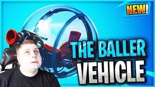 💚NEW Baller vehicle in Fortnite... hamster Ball With Grappler💚