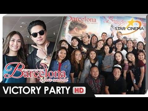 'Barcelona A Love Untold' | Victory Party