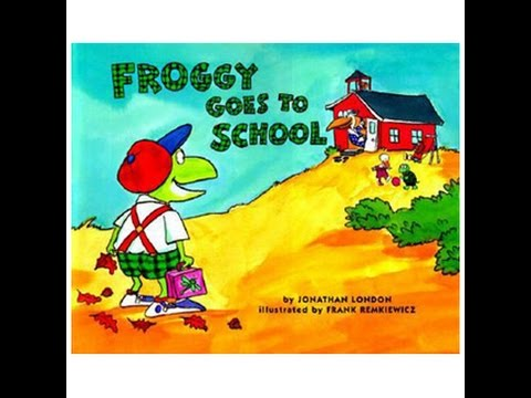 FROGGY GOES TO SCHOOL Read Along Aloud Story Audio Book for Children and Kids