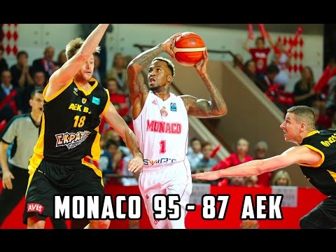 BCL — Monaco 95 - 87 AEK — Highlights