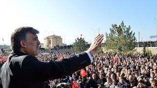 Cumhurbaşkanı Gül, Kelkit'te Vatandaşlarla Buluştu-16.11.2013