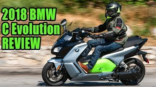 5. 2018 BMW C Evolution Scooter Review