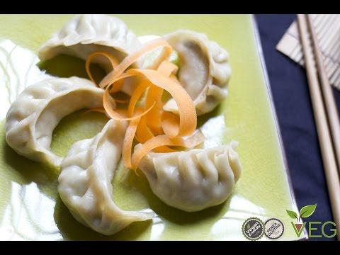 ravioli cinesi - ricetta 100% vegan