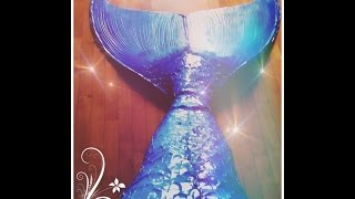Video DIY PERFECT & SWIMMABLE MERMAID TAIL MP3, 3GP, MP4, WEBM, AVI, FLV Mei 2019
