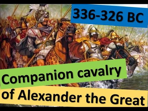 Companion cavalry of Alexander the Great (336-326 BC)