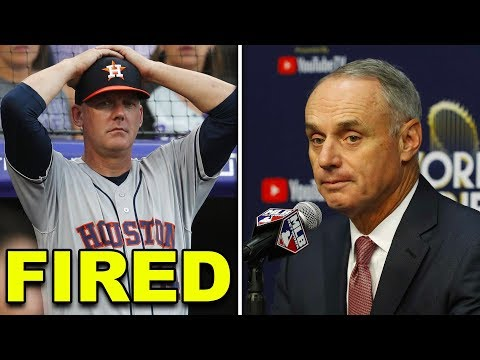 MLB HUGE PENALTY TO HOUSTON ASTROS FOR STEALING SIGNS IN 2017