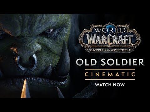 "Cinematic: ""Old Soldier"""