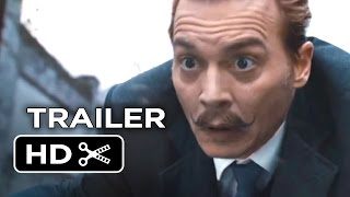 Mortdecai Official Trailer  1  2015    Johnny Depp  Gwyneth Paltrow Movie Hd