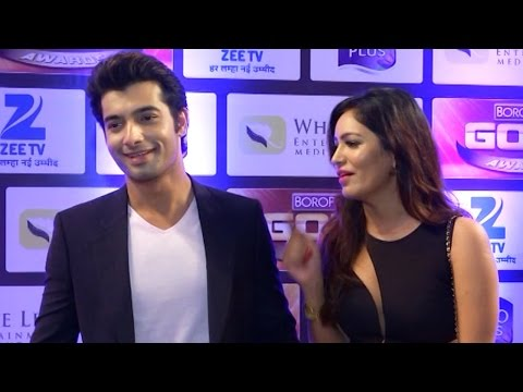 ZeeTv Gold Awards 2016 – Ssharad Malhotra & Girl