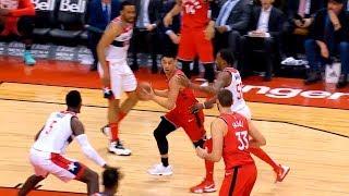 Jeremy Lin Highlights - Wizards at Raptors 2/13/19