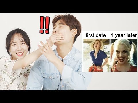 First Date VS 1 Year Later... | Couples react to RELATIONSHIP Memes