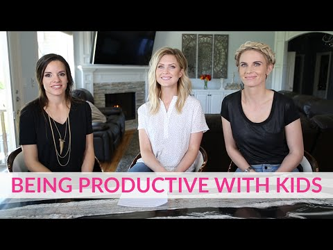 Being Productive With Kids | The Mom's View