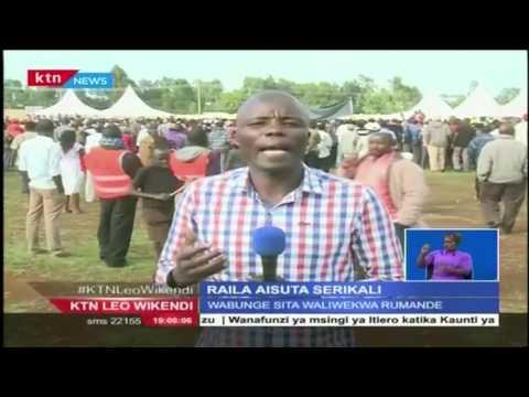Kiongozi wa Cord Raila Odinga akashifu serikali  kwa madai ya kukandamiza upinzani